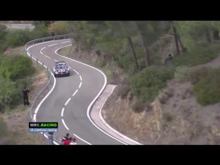 Wrc 2015 rally de espana crash sebastien ogier