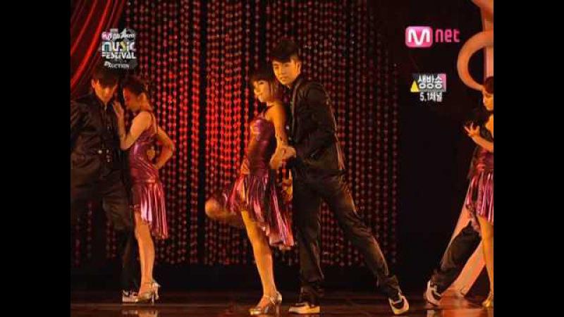 Wonder Girls 2PM Act 4 Secret Party Nobody Tango Ver on MKMF 2008 11 15