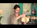 Нежный букет невесты из розы Вувузела и фрезий / How to Make Your Own Wedding Bouquet