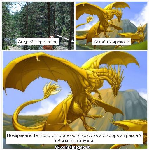 тест кто ты из драконов и картинка