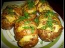 КАРТОШКА гармошка в духовке картошка гармошка с салом
