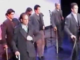 Men's class, Por tangos con bastón