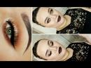 Warm Brown Eyes Dark Vampy Lips