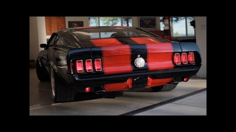 Evil 69 Mustang Mach 1 - Dark Horse Customs (DHC) - New 351 Series Car - CHECK IT OUT!