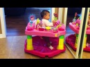 Baby JUMPING in Exersaucer