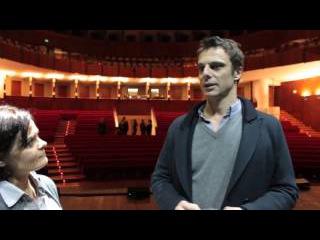 Isiviu' intervista Alessandro Preziosi Teatro Vittorio Emanuele di Messina