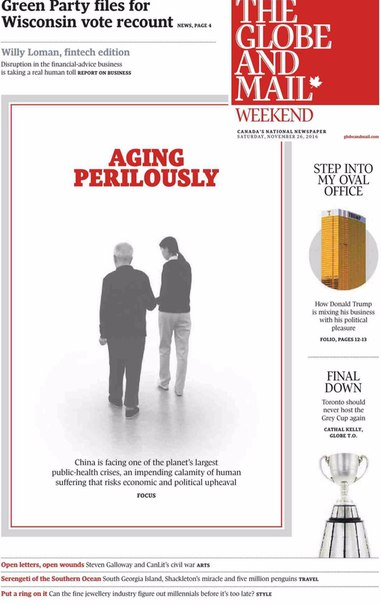 The Globe and Mail - November 26- 2016