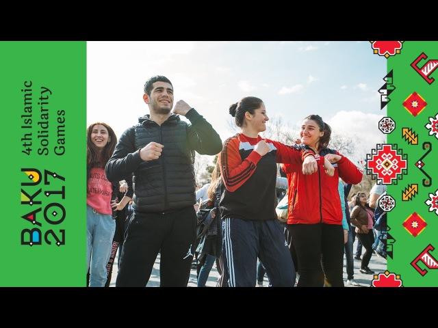 Oyunlara 50 gün tədbiri keçirildi | Bakı 2017