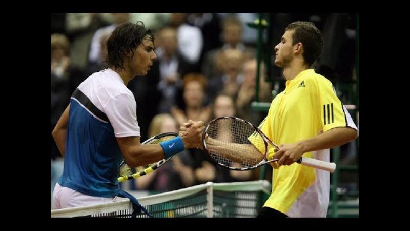 Grigor Dimitrov vs Rafael Nadal 5 7 6 3 2 6 ABN Amro Roterdam R16 11 02 2009