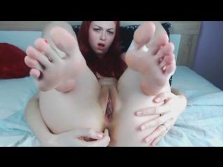 Foot Fetish (Solo, Toys, Teen, Masturbation, Petite, Webcam, Camshow, Redhead, Feet, Anal, Home Video)