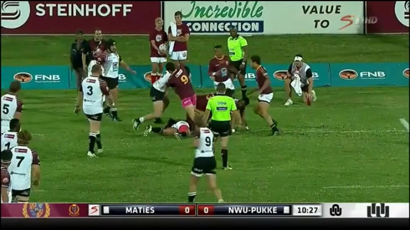 2016 South African University Annual Cup Final Maties v. NWU PUKKE