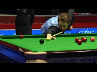 Judd Trump 120 v John Higgins QF English Open 2016