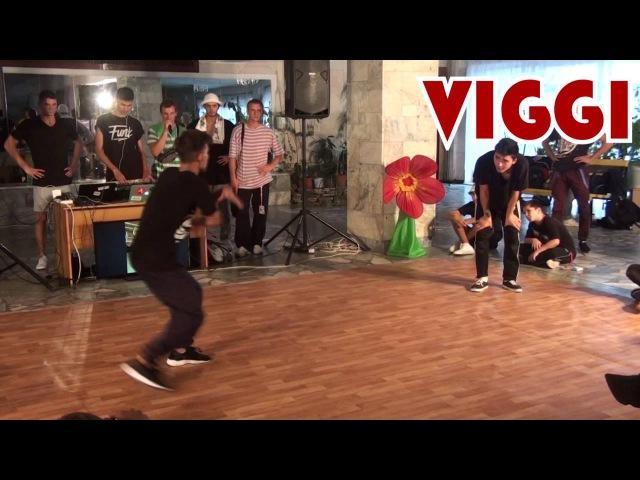 Kid Armor vs Viggi 1 4 БИТВА ЛЕТА 2016
