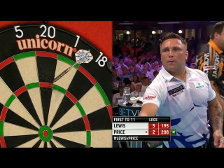 Adrian Lewis v Gerwyn Price (PDC World Matchplay 2016 / Round 2)