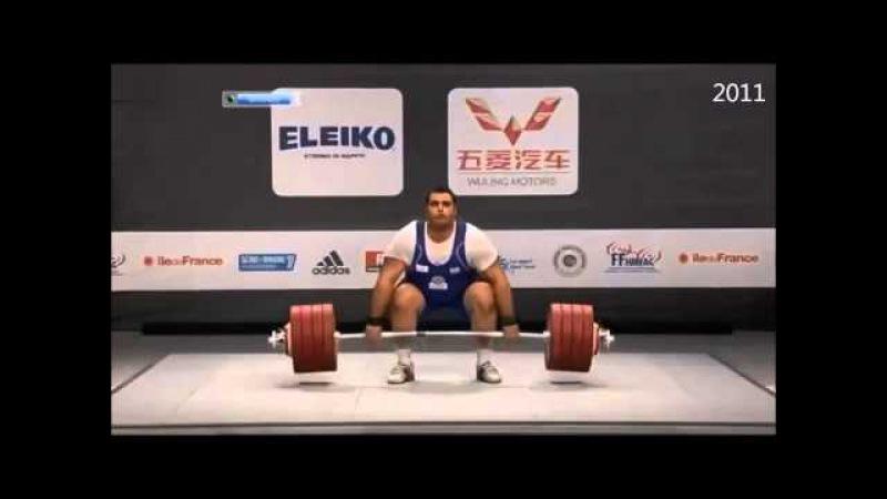 Behdad Salimi Kordasiabi at World Weightlifting Championships 2010 2014