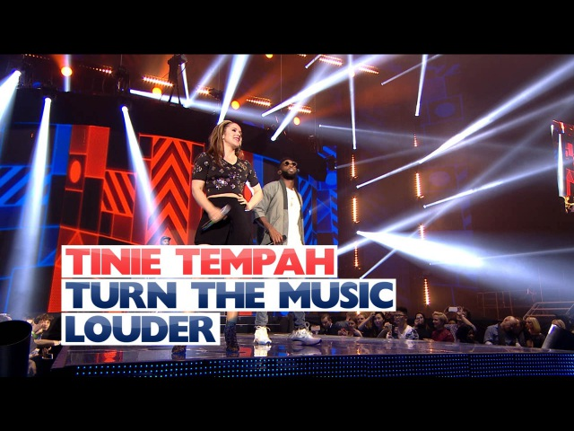Tinie Tempah ft Katy B - 'Turn The Music Louder' (Live At The Jingle Bell Ball )