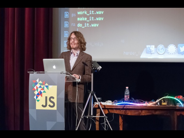 Dancing with Robots by Julian Cheal at JSConf Budapest 2015