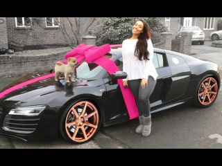 CHRISTMAS SURPRISE: PUPPY & NEW AUDI R8 GT V10!