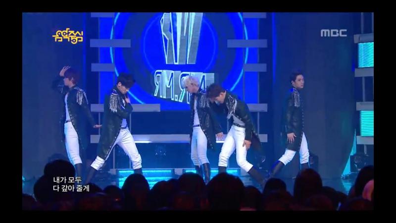 Предебют Чжиан Highway 미스터미스터 하이웨이 Music Core 20130202