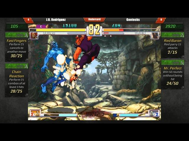Bar Fights gootecks Urien vs @PIKACHUAKUMA Akuma Street Fighter III 3rd Strike 12 23 12 FT10