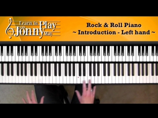 1950s rock roll piano lesson demo by jonny may