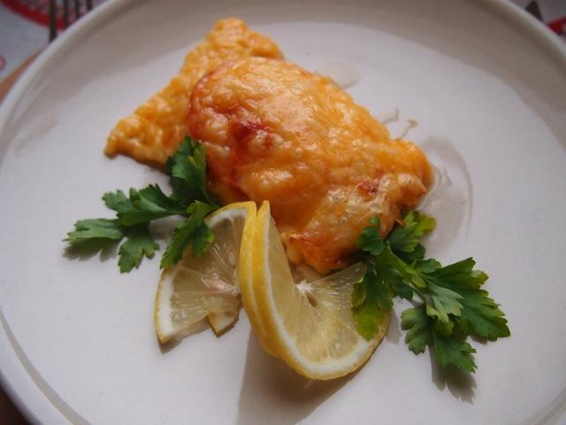 Легко и просто Горбуша с овощами под сыром
