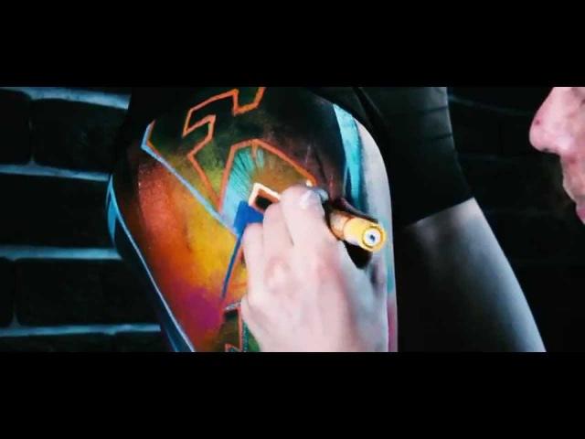 Мова Моладзі - Прома-відэа да Графіці боды-арт батла Раён 2015