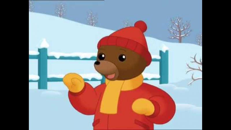 Petit Ours Brun fait des boules de neige Petit Ours Brun