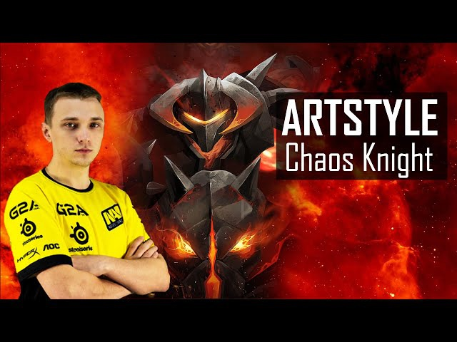 Artstyle Chaos Knight: Dota 2 NaVi pro gamer Artstyle Chaos Knight highlights