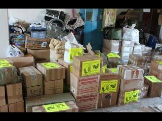 На Украине торгуют гуманитарной помощью из Европы для АТО.Новости Украины сегодня