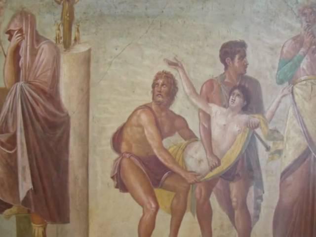 Фрески Помпей-Геркуланума