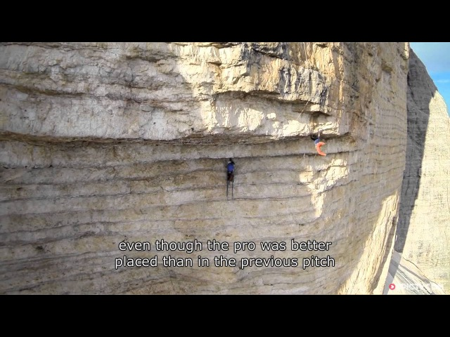 Edu Marin Beasts His Way Through A Mammoth 8c Roof Climb   Panaroma, Ep. 2 » FreeWka - Смотреть онлайн в хорошем качестве
