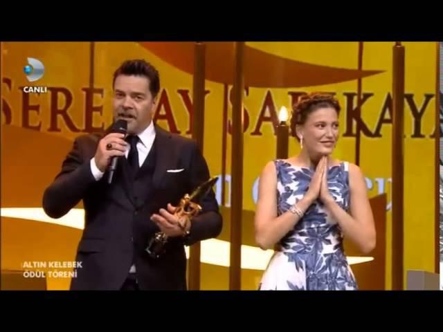 En İyi Kadın Oyuncu Serenay Sarıkaya - Altın Kelebek Ödülleri