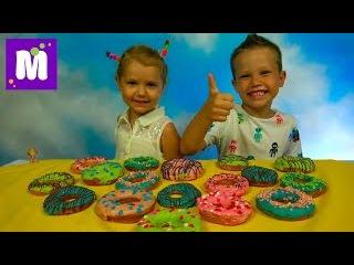 Челлендж Пончик Донатс кислый солёный или чесночные и Токсические конфеты Toxic Was...