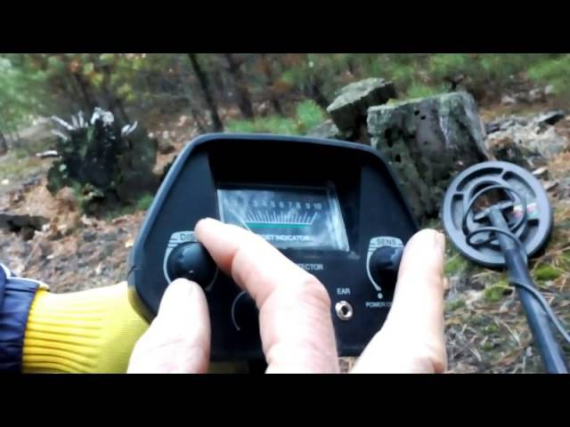TREKER GC 1016A - обзор металлоискателя при участии GARRETT ACE 250 и FISHER F4