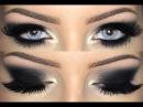 ♡ Black Smokey Eye Make Up Tutorial ♡ with Desio Innocent White