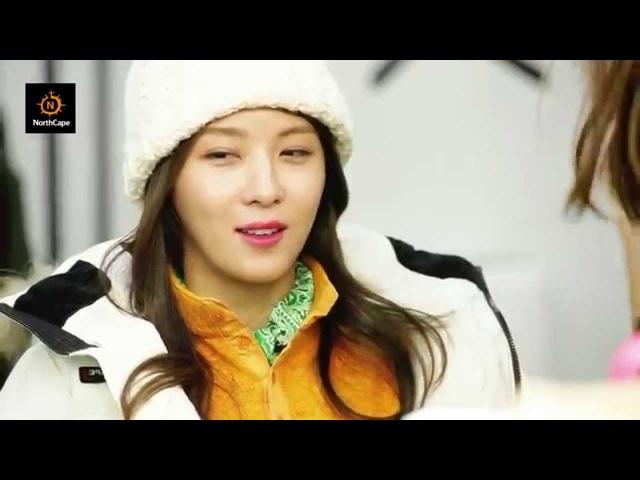 하지원 Ha Ji Won 박서준 Park Seo-Joon In 노스케이프 NorthCape F/W 2015 Making Film