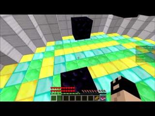 Проходим паркур в Minecraft