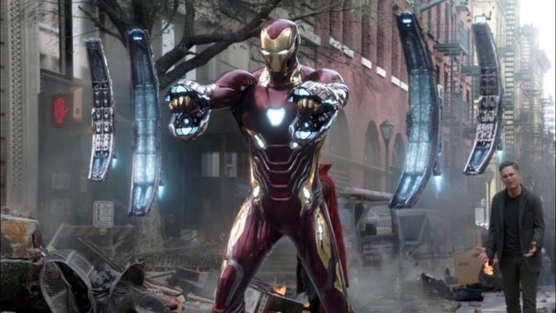 Мстители Война бесконечности Железный человек