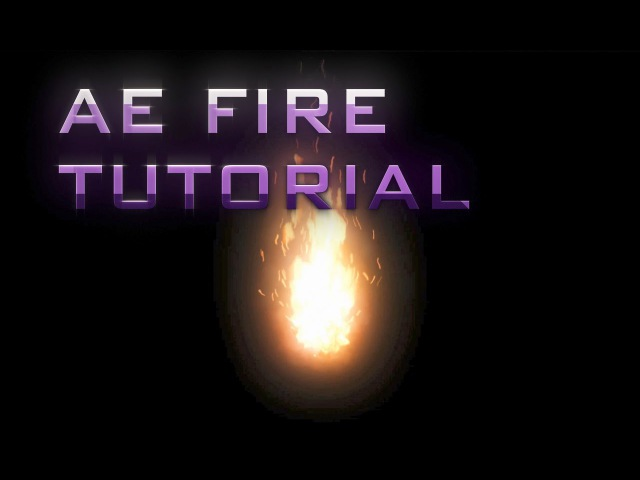 After Effects Tutorial: Animated Fire - Trapcode Particular