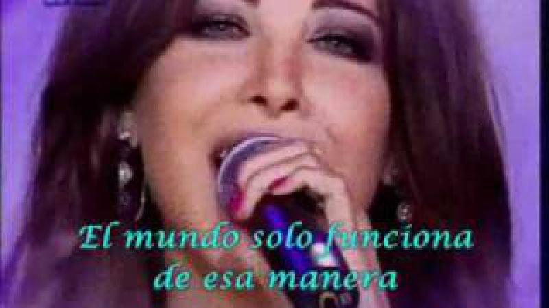 NANCY AJRAM ESPAÑOL EFTAH ALBAK TEFRAH - (Subtitulado)- Live-Musica Arabe