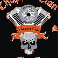 Логотип Мотоклуб CHOPPER CLAN MC UFA Official Group