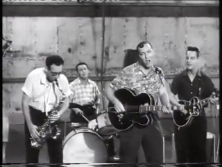 Bill haley  his comets - hot dog buddy buddy - from dont knock the rock - hq 1956