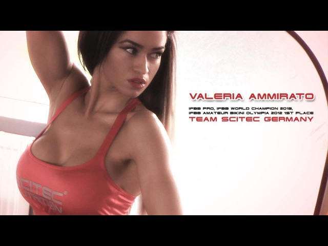 Valeria Ammirato IFBB Bikini Pro - Team Scitec Germany