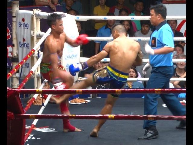 Kaimukkao Por.Thairongruangkamai (136lbs,RED) vs Yodlekpet Or.Pitisak (136lbs,BLUE), Rajadamnern Stadium