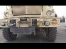 A Mine Resistant Ambush Protected MRAP Vehicle Install