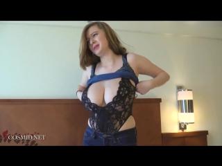 Amanda Love   Large young natural boobs on bed