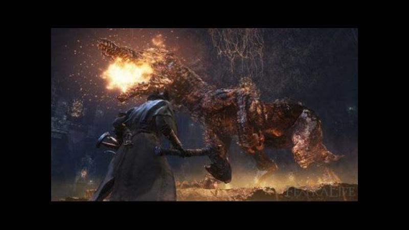 Bloodborne Босс Сторожевой пёс Древних Богов Watch Dog of the Old Lords