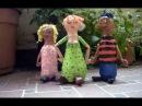 Artesanato: Bonecos com garrafas descartáveis
