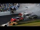 Аварии на гонках NASCAR. Accidents at NASCAR races.